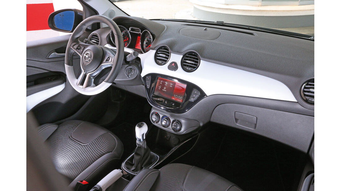 Opel Adam 1.2 Ecoflex, Cockpit, Lenkrad