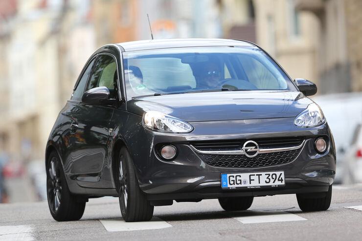 Opel Adam 1.2 Ecoflex, Frontansicht