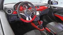Opel Adam 1.4, Cockpit, Lenkrad