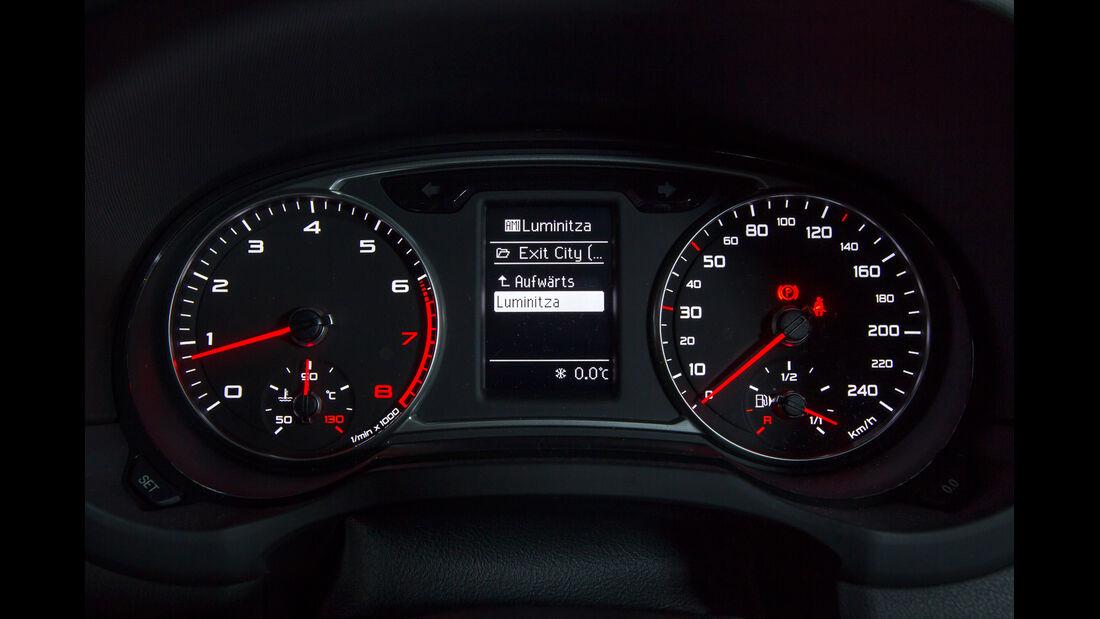 Opel Adam 1.4 ECOFLEX, Rundinstrumente