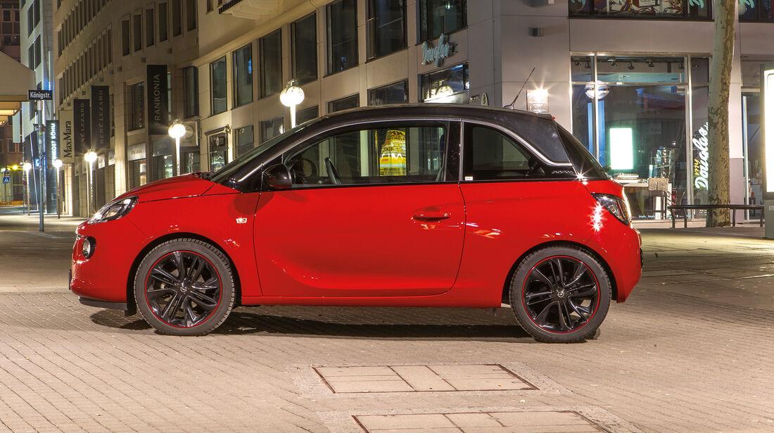 Opel Adam 1.4 ECOFLEX, Seitenansicht