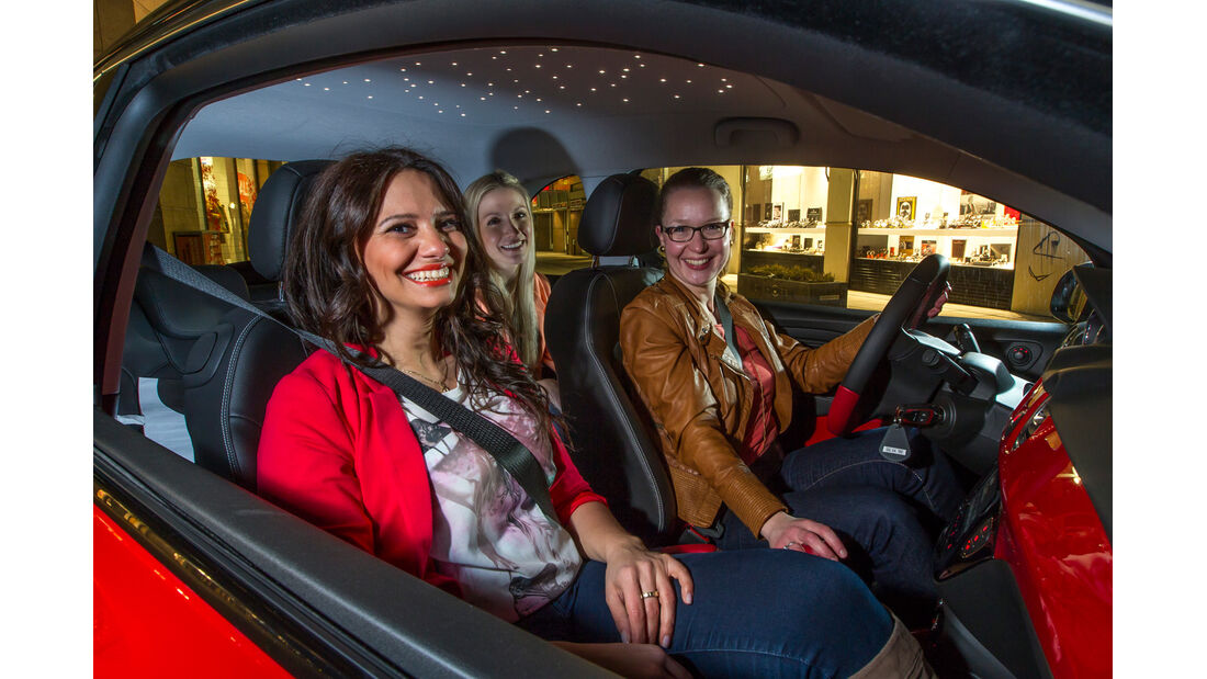 Opel Adam 1.4 ECOFLEX, Vordersitze, Fahrerinnen