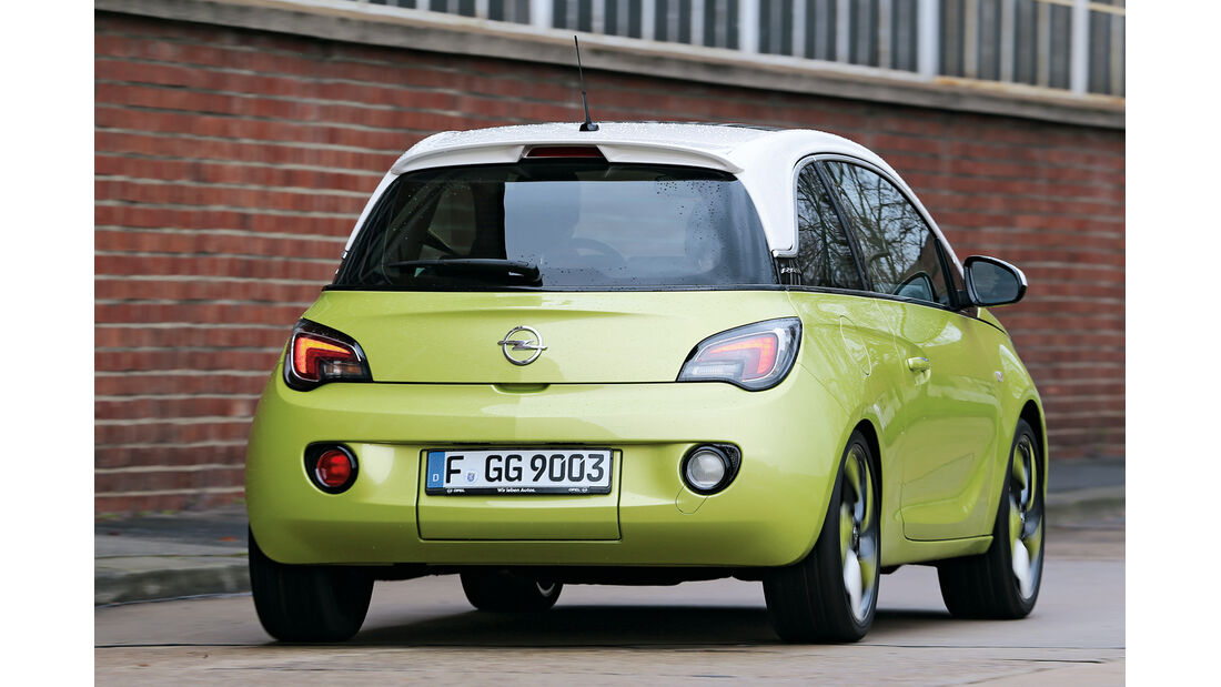 Opel Adam 1.4 Jam, Heckansicht
