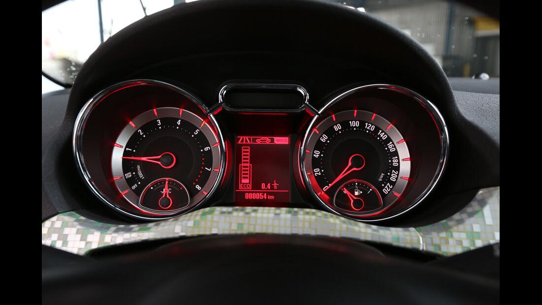 Opel Adam 1.4 Jam, Rundinstrumente