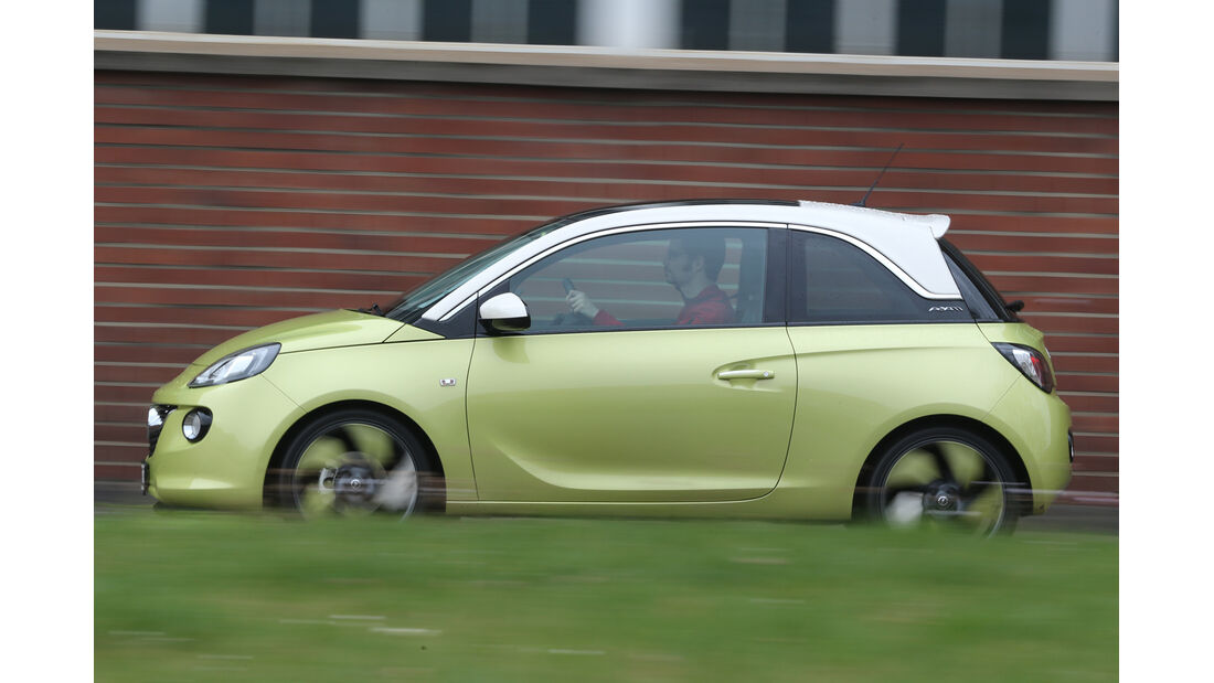 Opel Adam 1.4 Jam, Seitenansicht