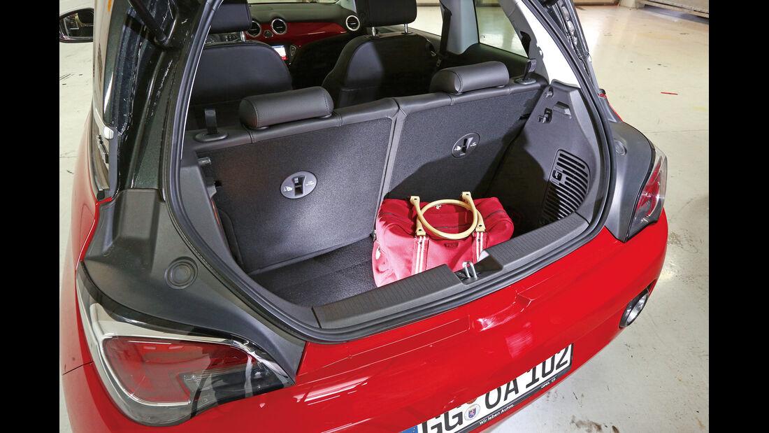 Opel Adam 1.4, Kofferraum