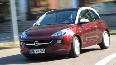 Opel Adam 1.4 LPG, Frontansicht