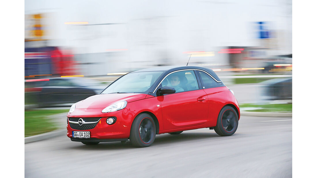 Opel Adam 1.4, Seitenansicht