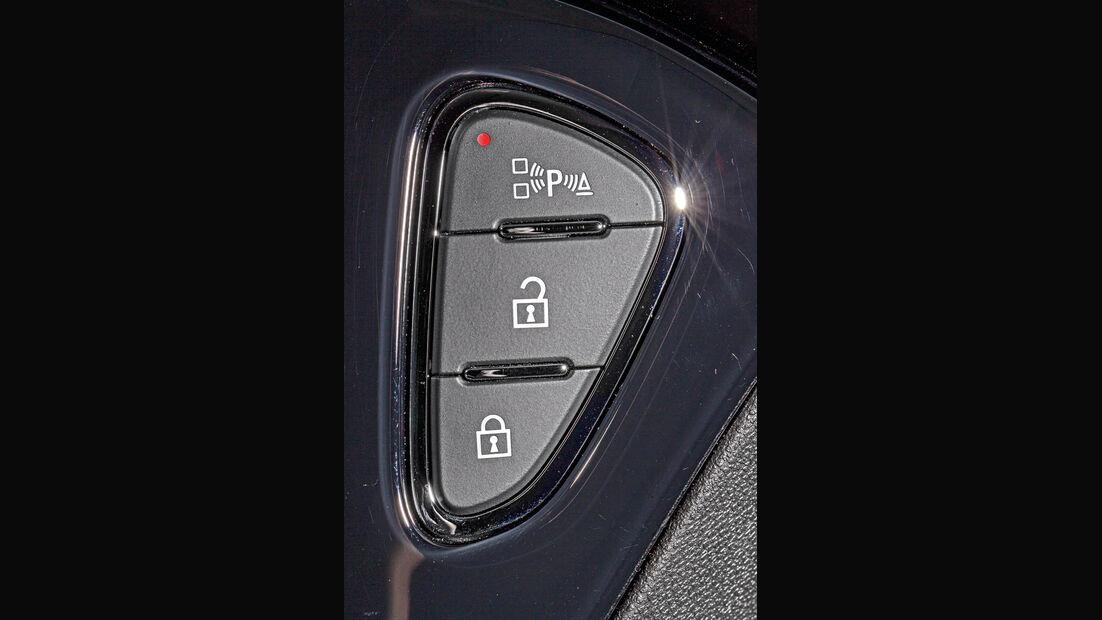 Opel Adam, Bedienelemente