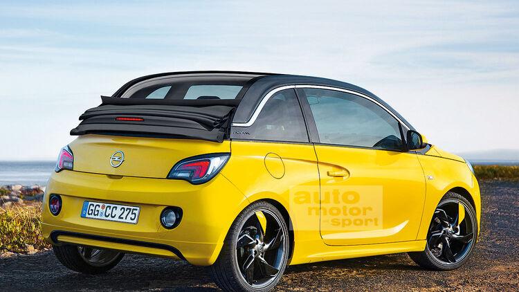 Opel Adam Cabrio Faltdach Cabrio Soll In Serie Gehen Auto