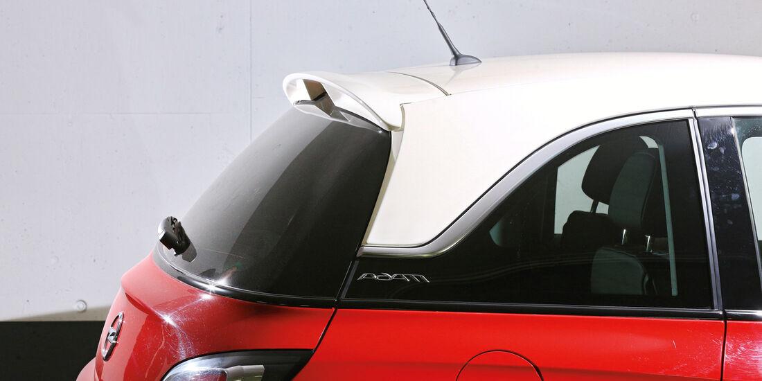Opel Adam, Dachpaket, Spoiler