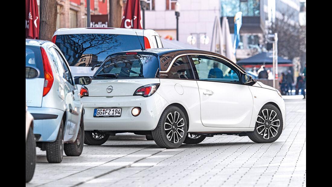 Opel Adam, Einparken