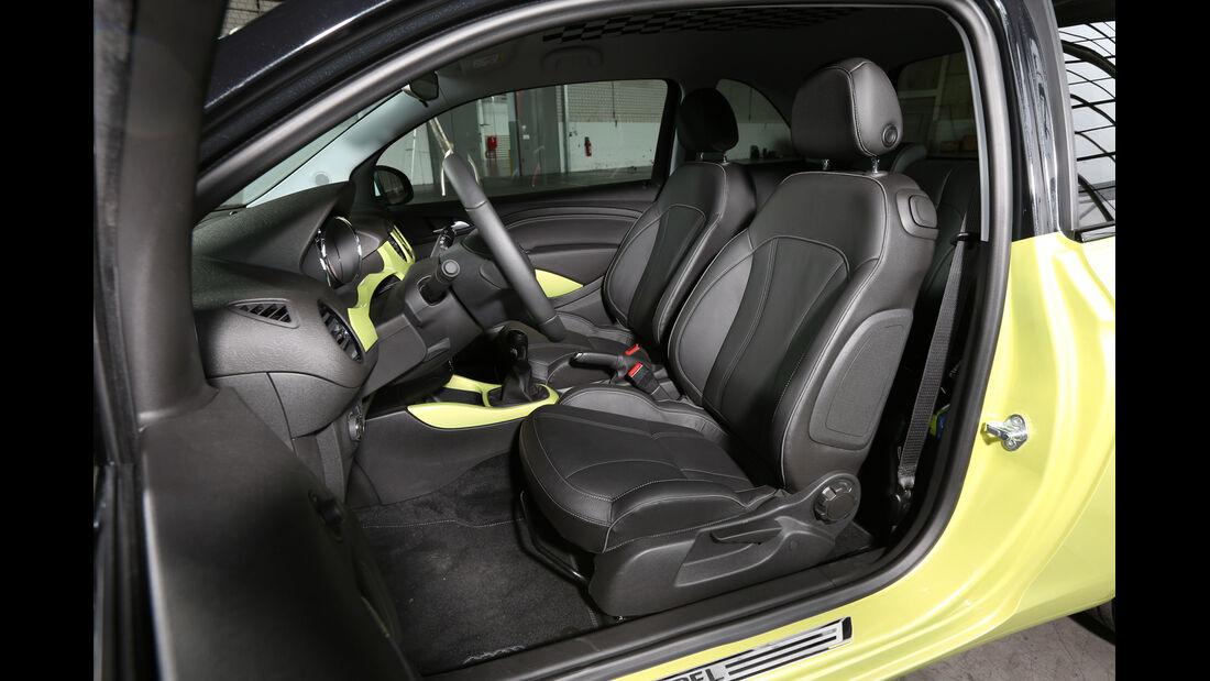 Opel Adam, Fahrersitz