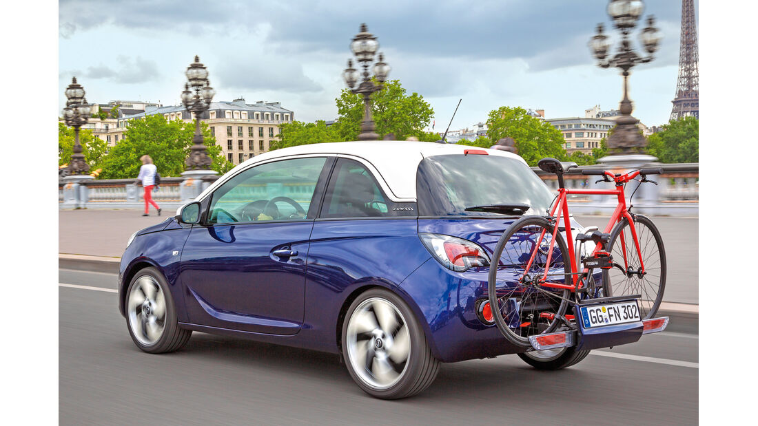 Opel Adam, Fahrradträger