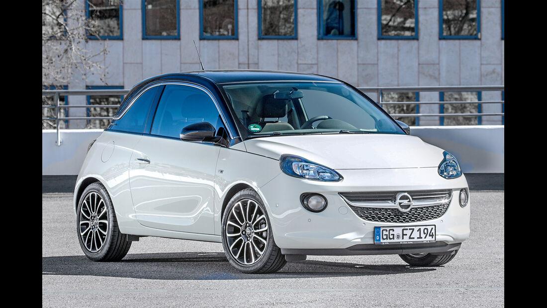 Opel Adam, Frontansicht