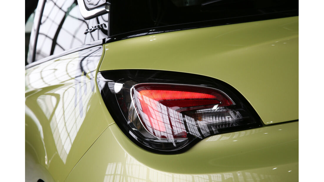 Opel Adam, Heckleuchte