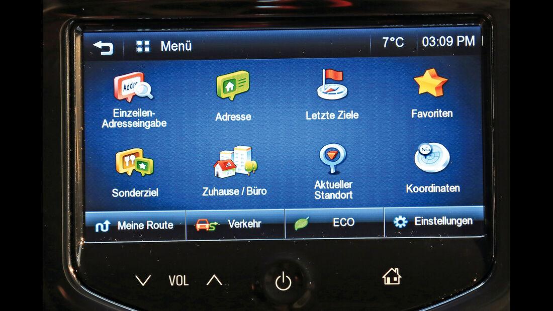 Opel Adam, Infotainment
