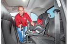 Opel Adam, Kindersitz