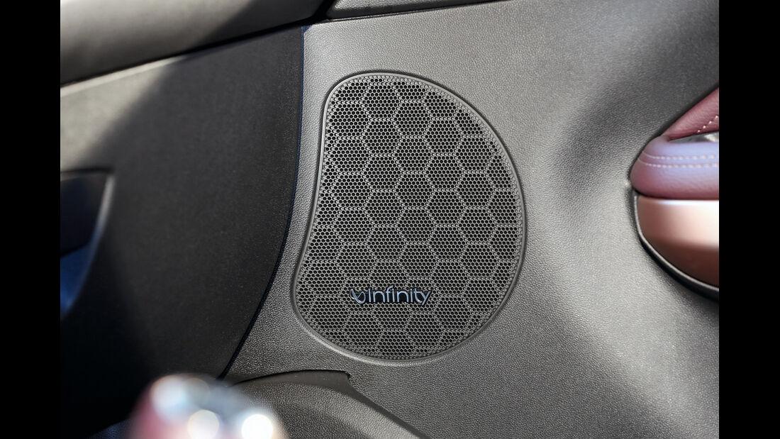 Opel Adam, Lautsprecher
