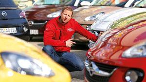Opel Adam, Michael von Maydell