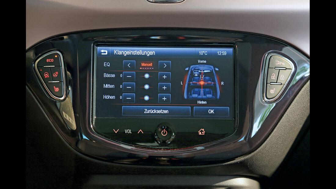 Opel Adam, Navi, Monitor