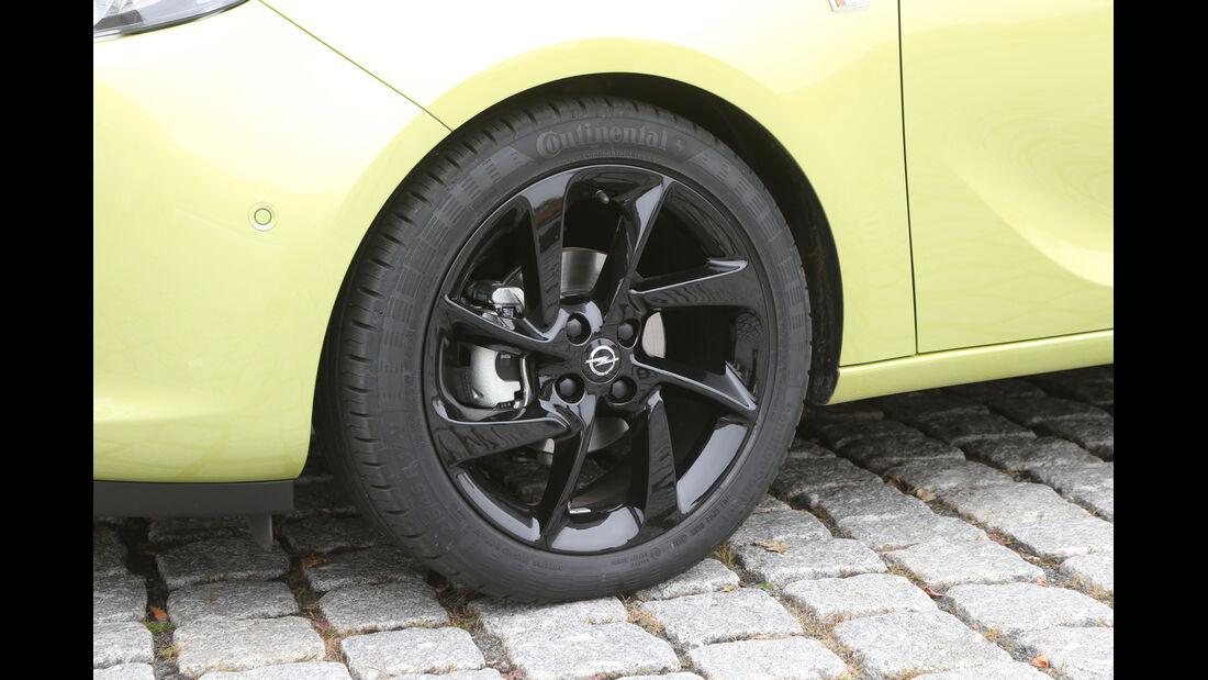 Opel Adam, Rad, Felge