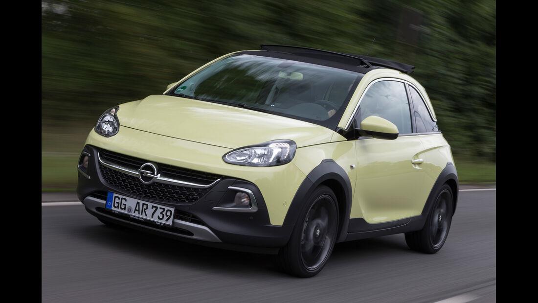 Opel Adam Rocks 1.0 DI Turbo, Frontansicht