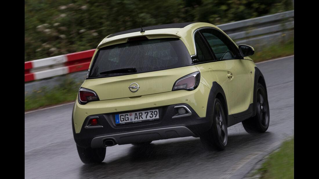 Opel Adam Rocks 1.0 DI Turbo, Heckansicht