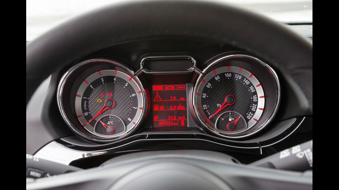 Opel Adam Rocks 1.0 DI Turbo, Rundinstrumente