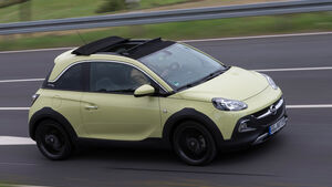 Opel Adam Rocks 1.0 DI Turbo, Seitenansicht
