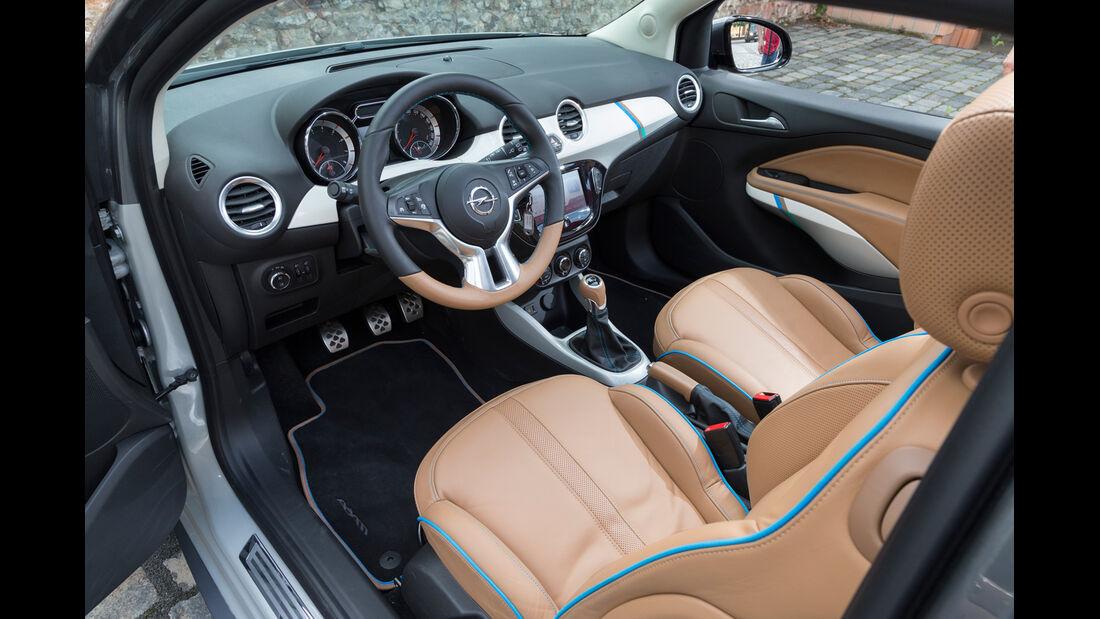 Opel Adam Rocks, Cockpit, Fahrersitz