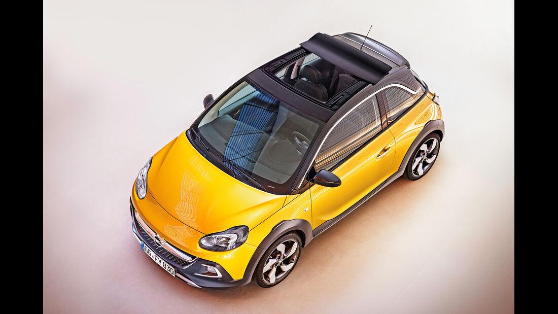 Opel Adam Rocks, Draufsicht
