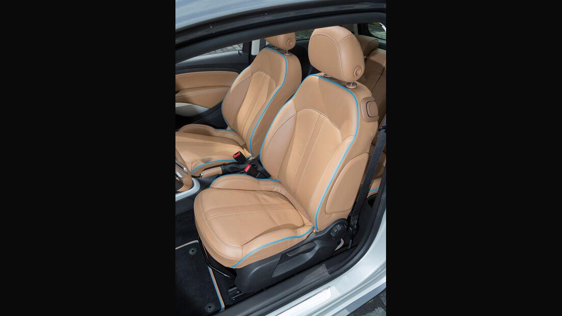 Opel Adam Rocks, Fahrersitz