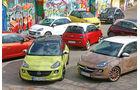 Opel Adam Rocks, Farben, Modelle