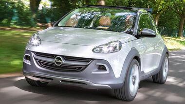 Opel Adam Rocks, Frontansicht