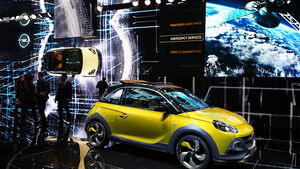 Opel Adam Rocks, Genfer Autosalon, Messe, 2014