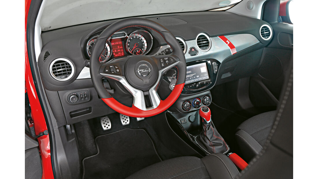 Opel Adam S, Cockpit