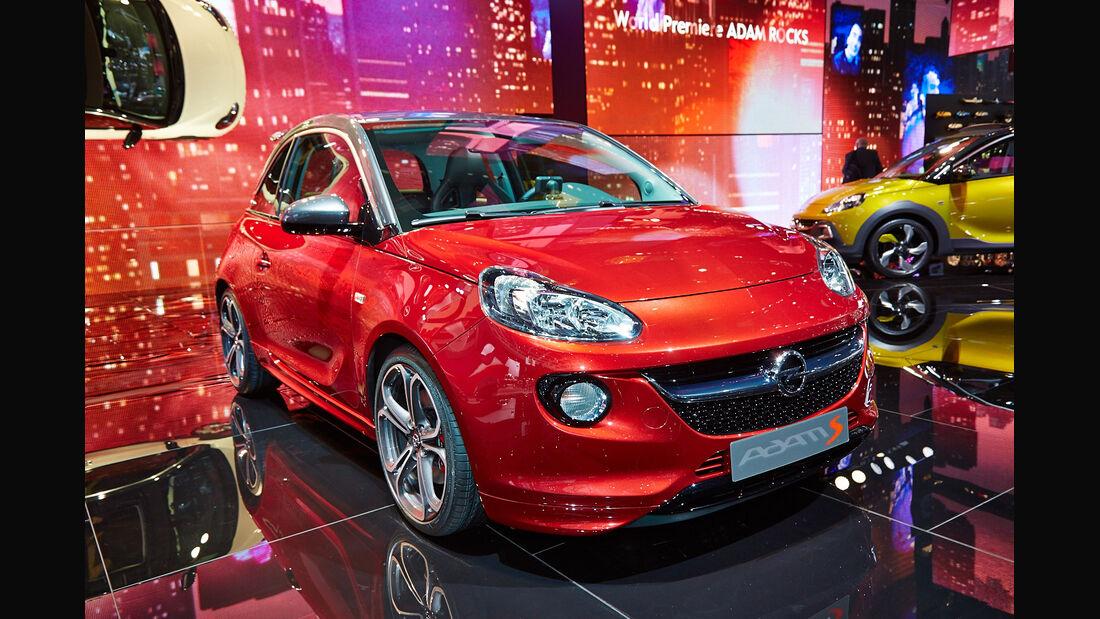 Opel Adam S, Genfer Autosalon, Messe 2014