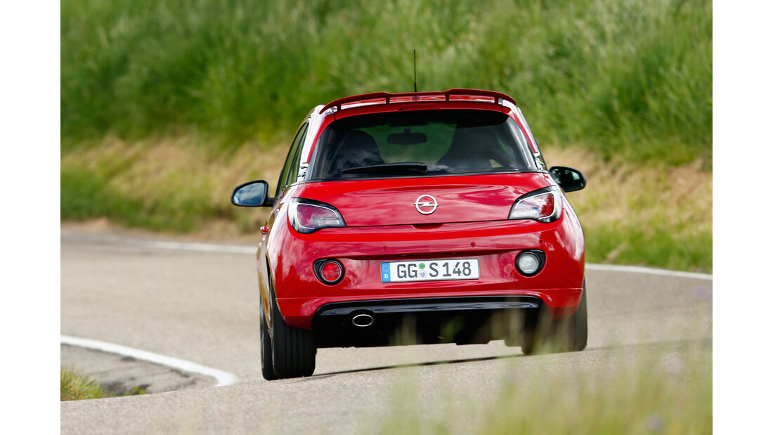 Opel Adam S, Heckansicht
