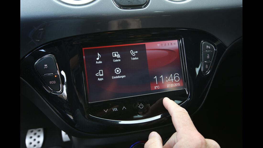 Opel Adam S, Touchscreen