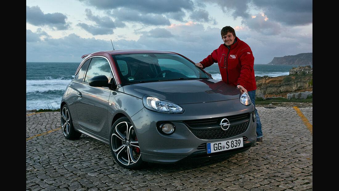 Opel Adam S, ams, Fahrbericht