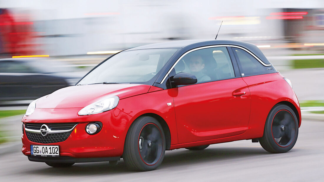 Opel Adam, Seitenansicht