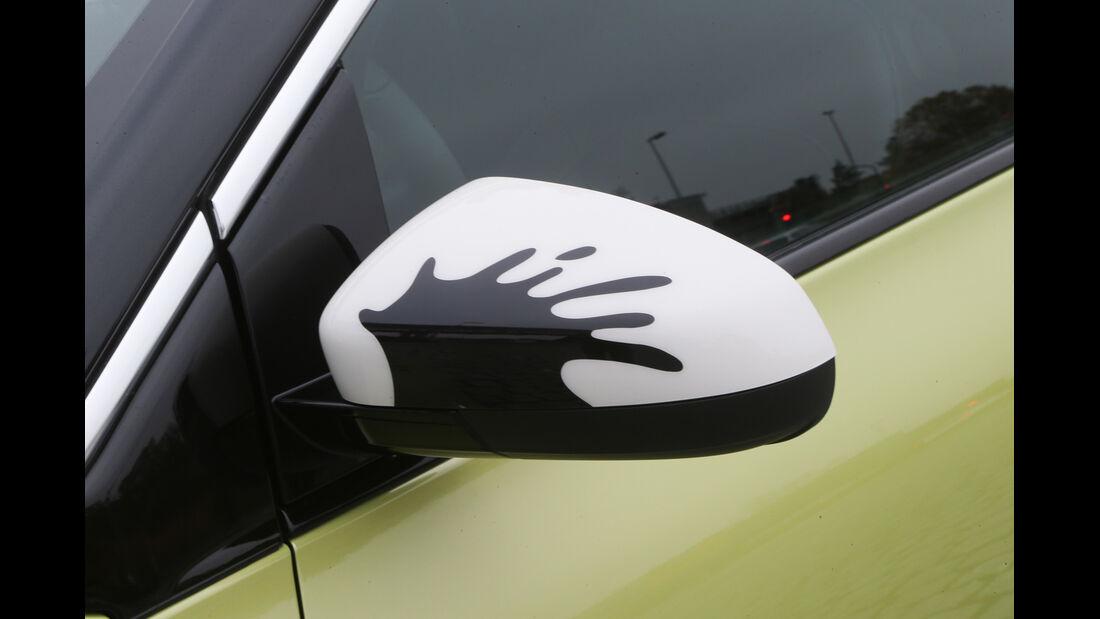 Opel Adam, Seitenspiegel