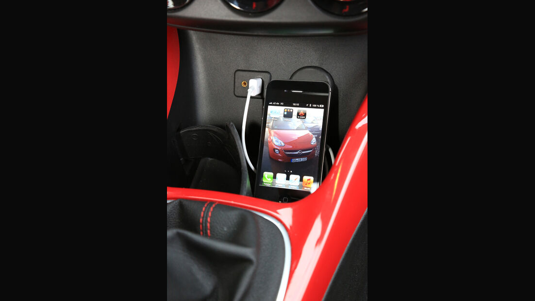 Opel, Adam, iPhone