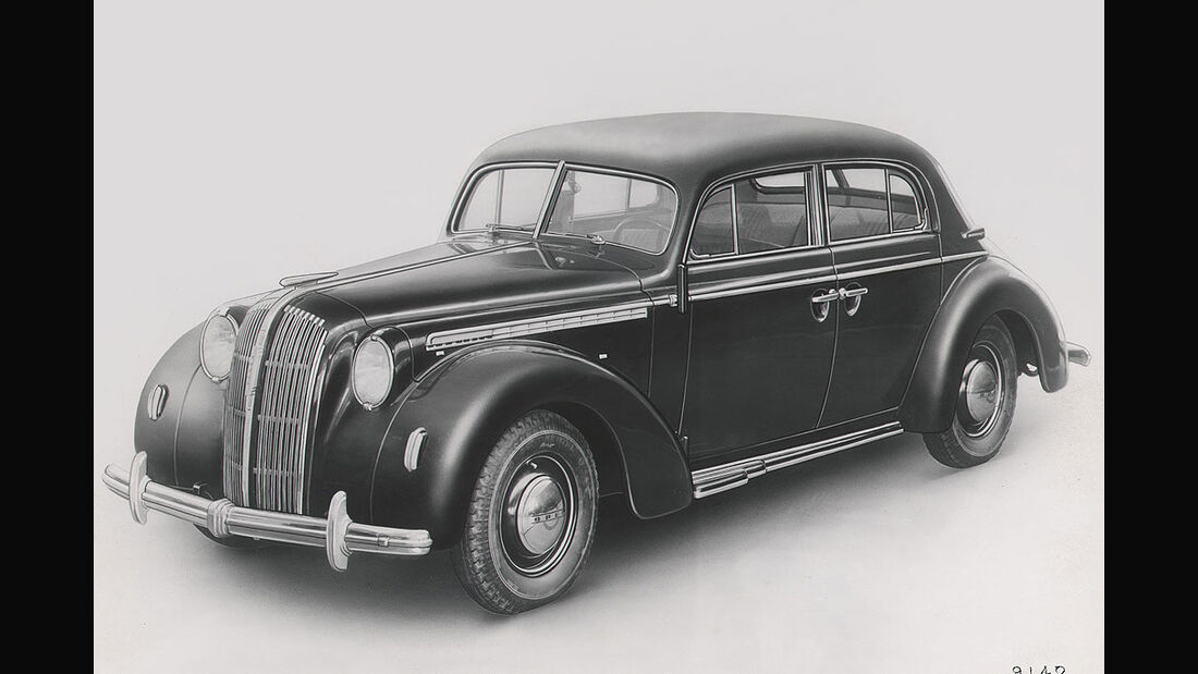 Opel Admiral, 1937