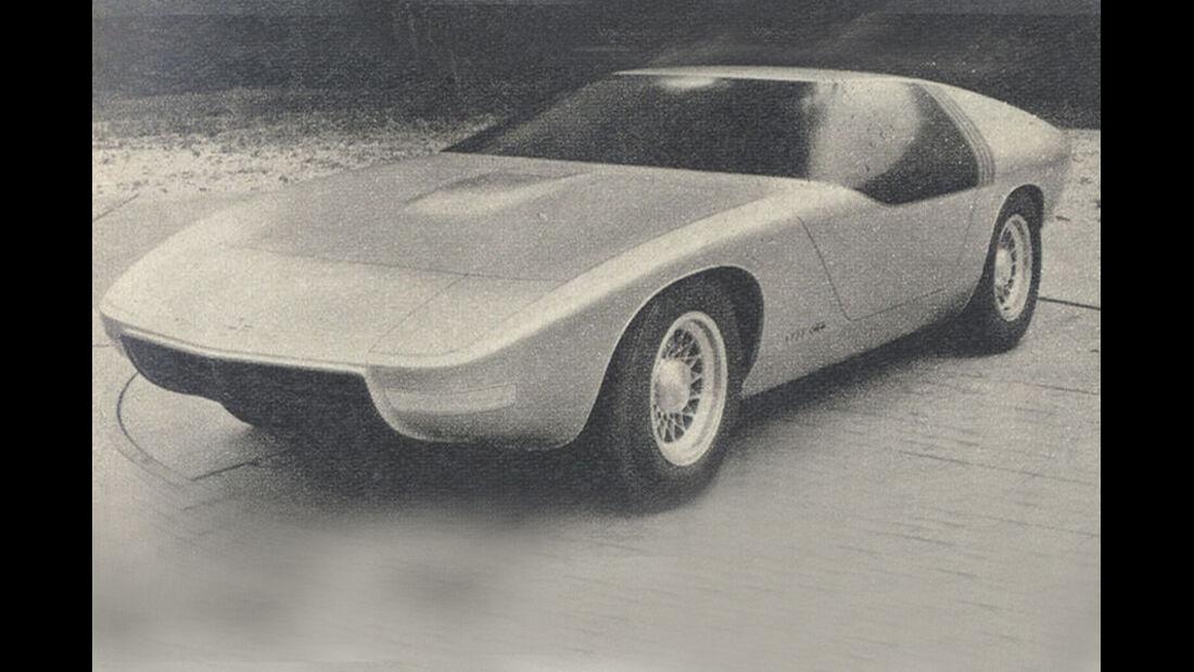 Opel, Aero GT, IAA 1969