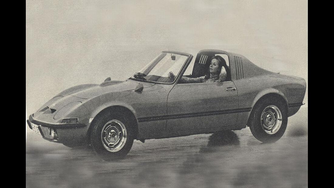 Opel Aero GT,  IAA 1969