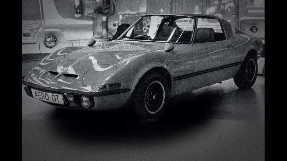 Opel, Aero-GT, IAA 1969