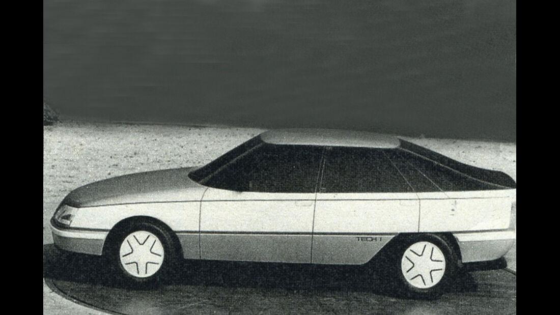 Opel, Aerodynamik-Studie , IAA 1981