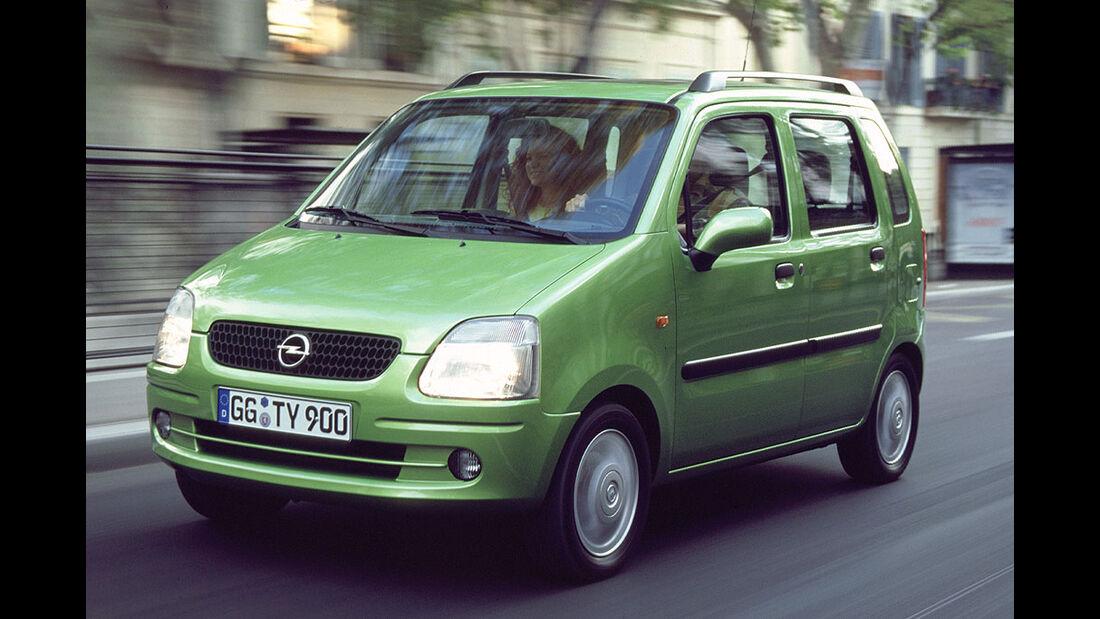 Opel Agila, 2000